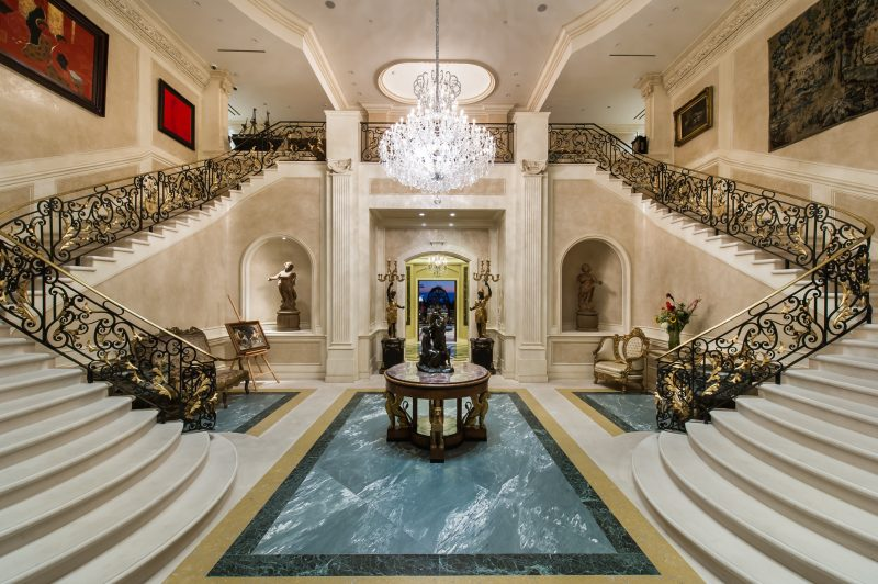 Most Expensive Home in America Grand Entryway