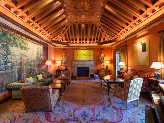 Hacienda de la Paz Living Room