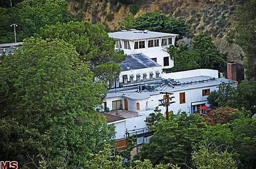 Jared Leto's Atomic Studio Home Exterior View
