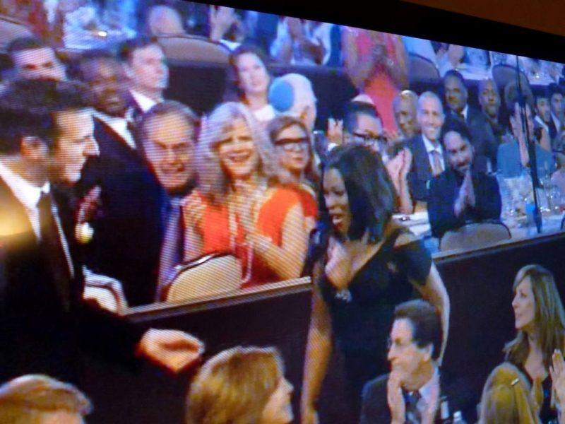 2015 Critics Choice TV Awards Lisa and Jim
