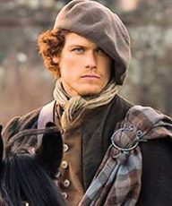 Sam Heughan Celtic Brooch
