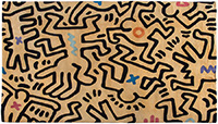 Frank Lloyd Wright Auction -- Sturges House Plus Remarkable Modern Art Keith-Haring