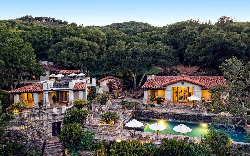 Whoopi Goldberg Estate Deer Lodge Santa Barbara