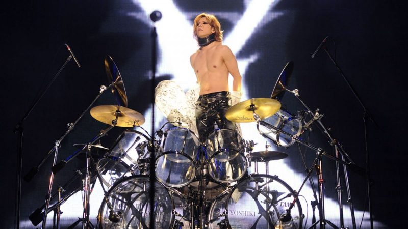 yoshiki--drums-X-Japan