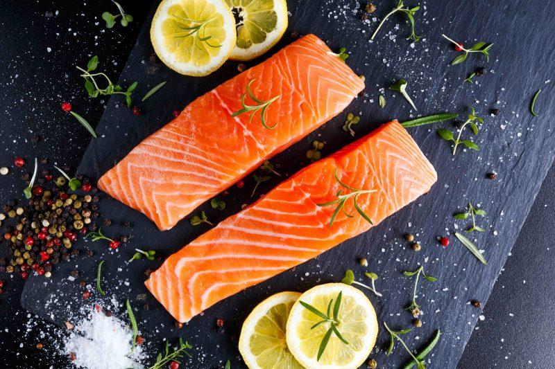 Greensbury Market salmon