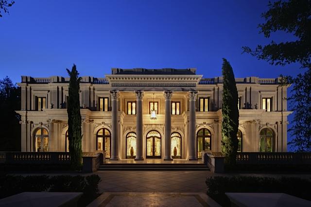 Best of California Classic Architecture Sunset Mansion Exterior