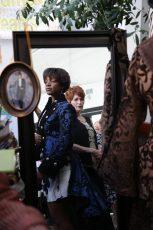 KELSEY SCOTT & CAROLYN HENNESY WITH SAMIAH FINE CLOTHING kicking off Oscar gifting season