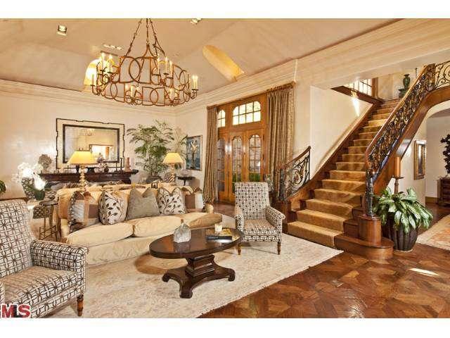 Camille Grammer Estate Sale stairs