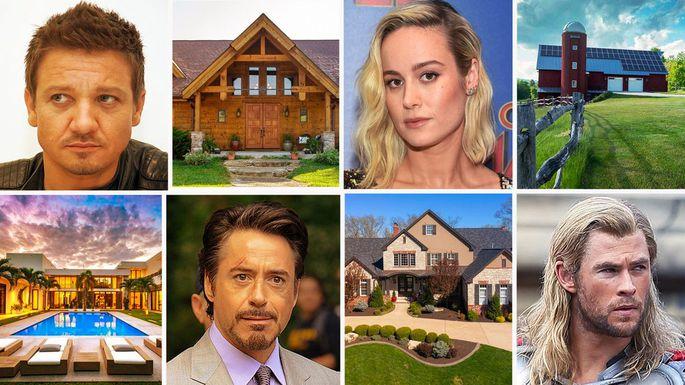 Avengers Homes