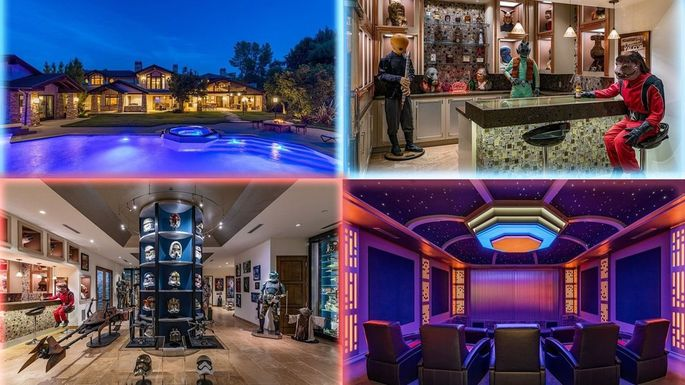 Star Wars mansion