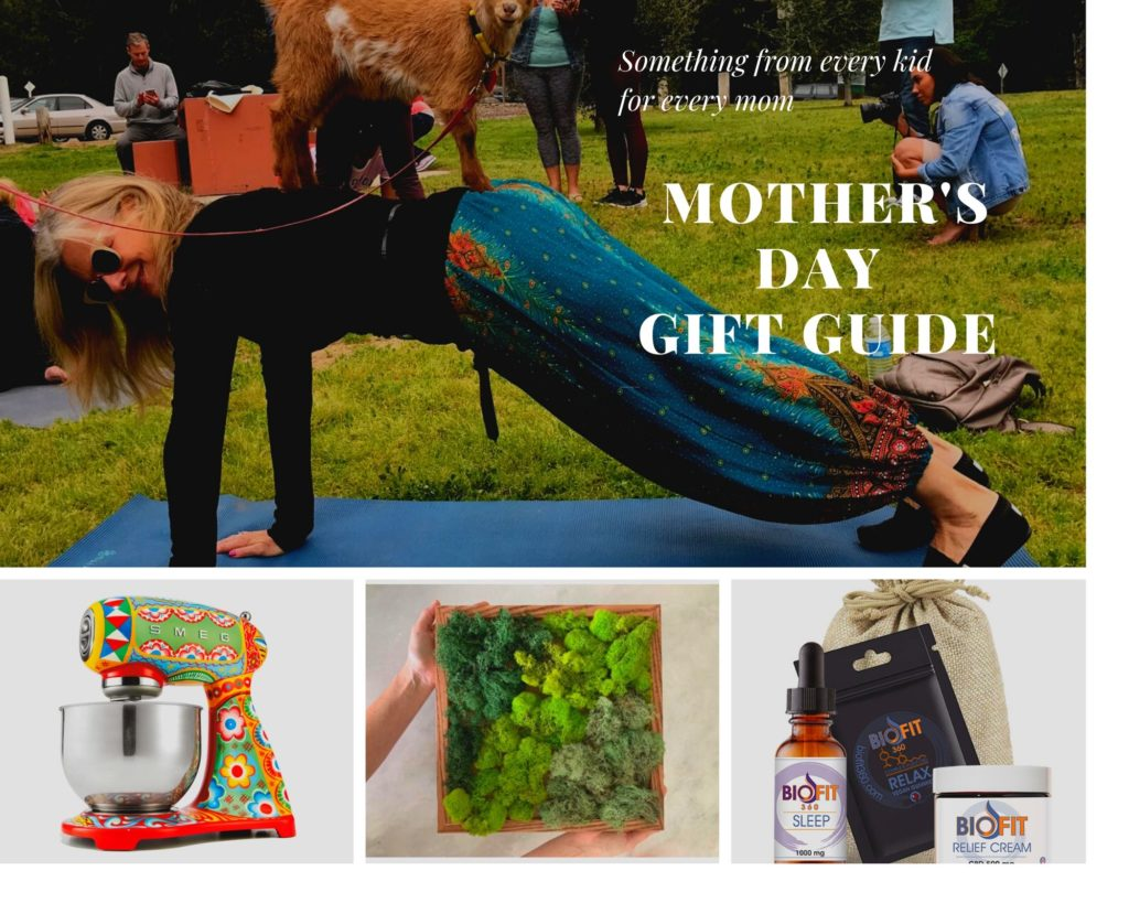 Mother's Day Gift Guide Goat Yoga