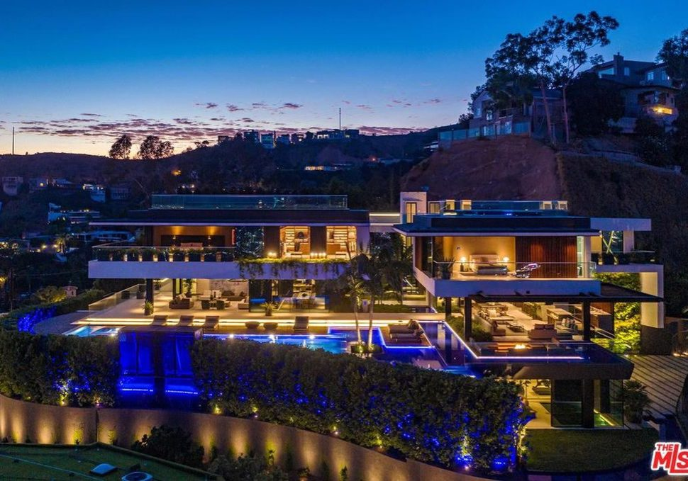 Biggest Hollywood Hills Home