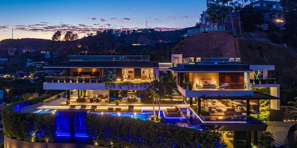 Biggest Hollywood Hills Home
