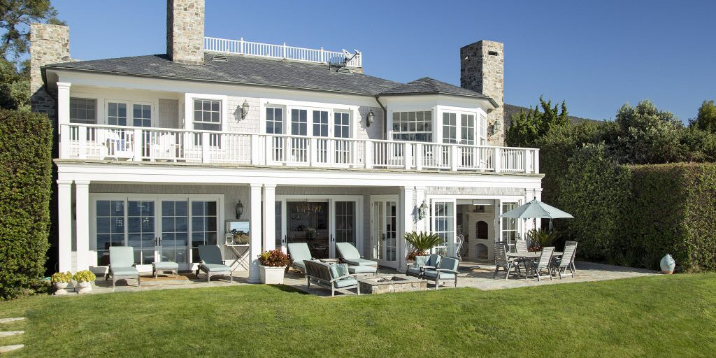 Dennis Miller Lists Beach House Exterior