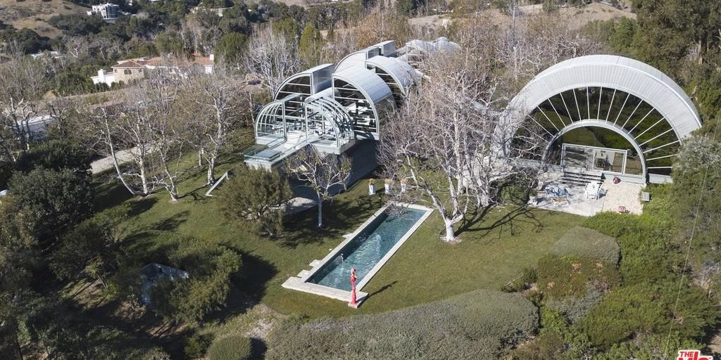 Malibu space station house Milton Sidley House