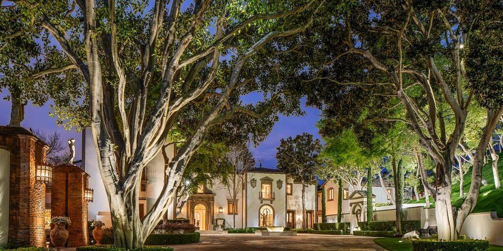 Sylvester Stallone mansion