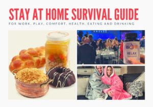 Stay At Home Survival Guide montage