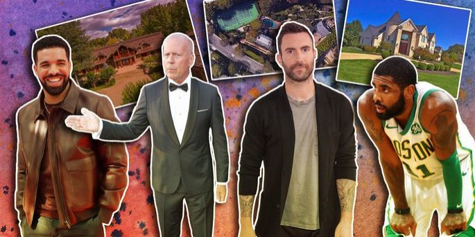 celebrity real estate winners — losers